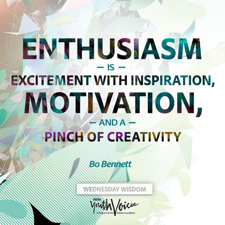 Enthusiasm Quotes For Work. QuotesGram