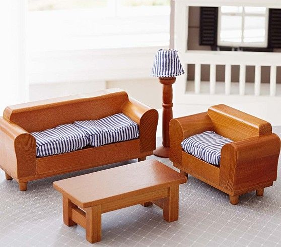 Dollhouse living room set savannah pinterest