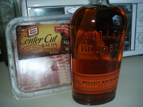 BACON-INFUSED BOURBON | BACON....Need I say More? | Pinterest