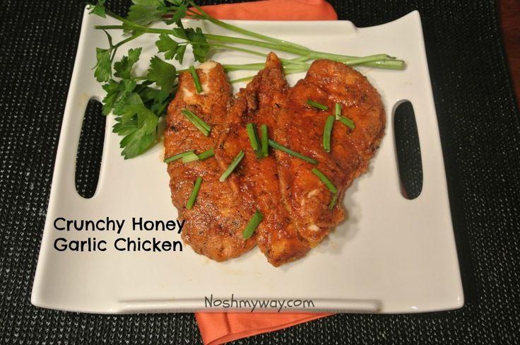Crunchy Honey Garlic Chicken   Recipe