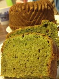 Food Locker: moist green tea butter cake