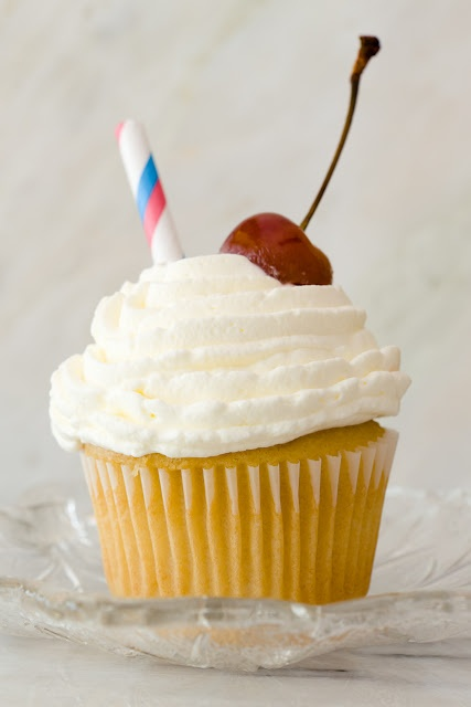 Vanilla Malt Cupcakes (from Cupcake Project - cupcakeproject.com)