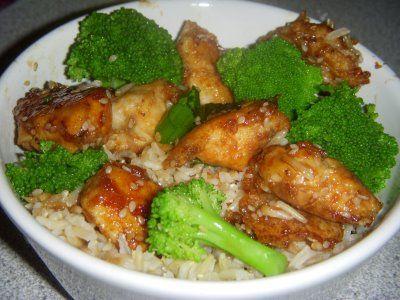 Lighter Sesame Chicke | Things I'd love to cook & EAT!!! | Pinterest