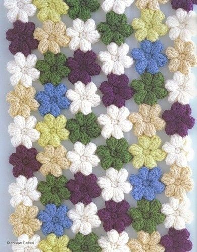 Mollie Flower Crochet Blanket Pattern : Pinterest