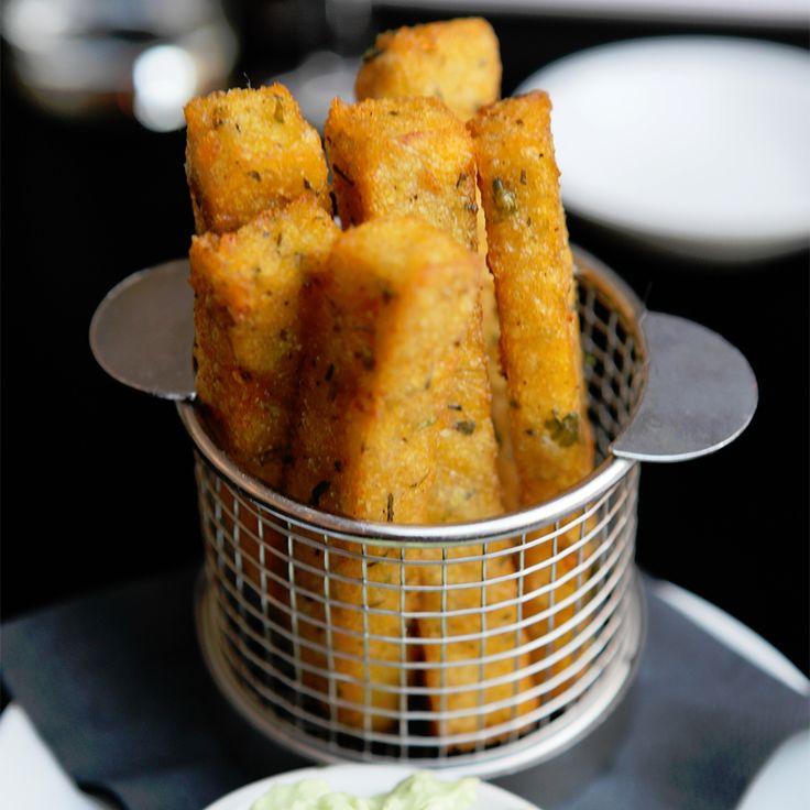 The Gate's Feta & Cous Cous Fries | Chips | Pinterest