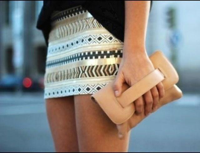 Zara Aztec Skirt Ebay 97