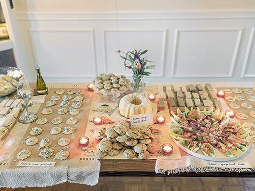 The West EggGreat Gatsby Party Food Ideas