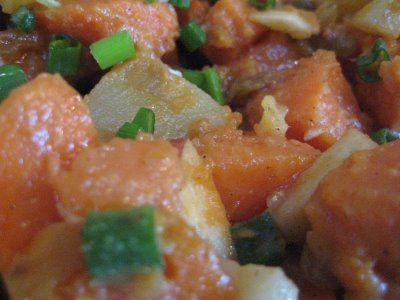Bountiful Kitchen: Sweet Potato Salad with Orange Maple Dressing # ...