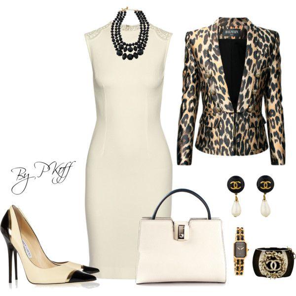 A fashion look from October 2014 featuring STELLA McCARTNEY dresses, Balmain jackets y Jimmy Choo \u0026quot;