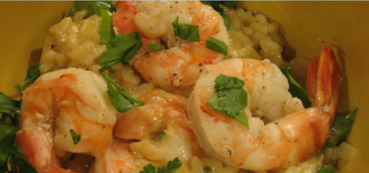 Asparagus and Shrimp Risotto | Favorite Recipes | Pinterest