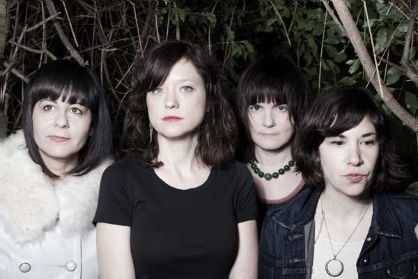 Indie-rock band Wild Flag...