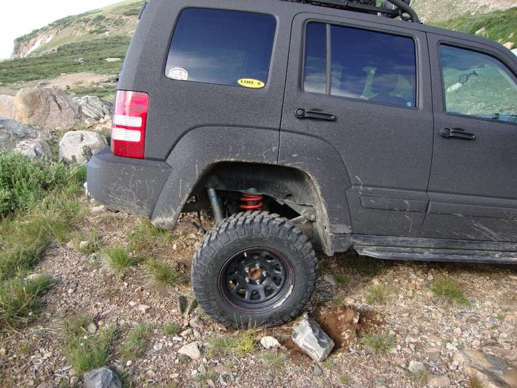 Rhino Lined Exterior Jeep Cherokee Pinterest