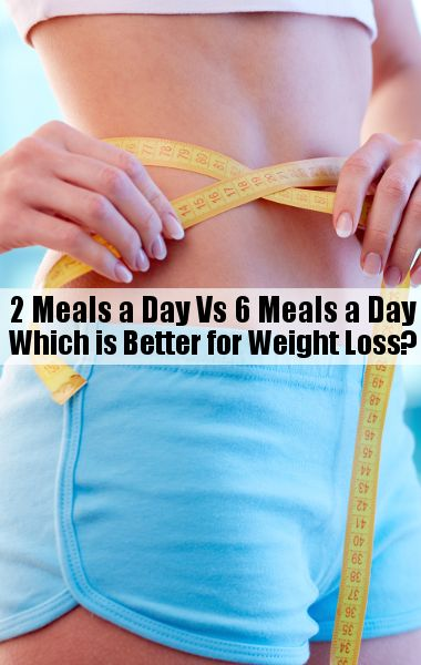 meals a day may be better for weight loss than eating six small meals