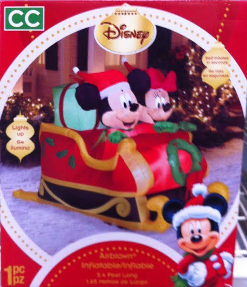 Disney Inflatable Christmas Decorations Photograph Disney