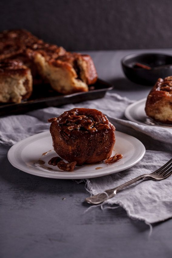 Sticky cinnamon buns with Pecan nuts | Recipe