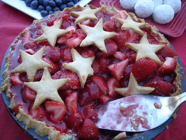 the only part i celebrate about the 4th is the baked goods