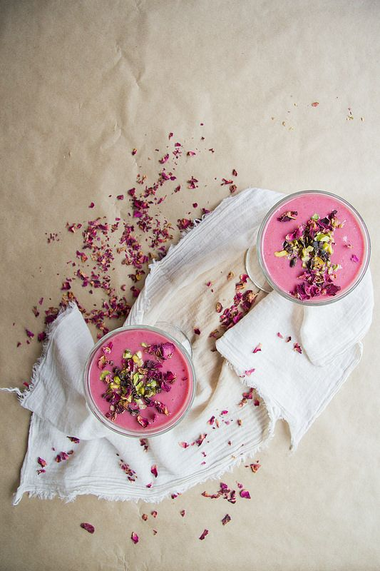 Raspberry Rosewater Smoothie Recipes — Dishmaps