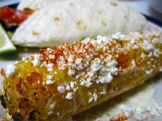 Elote - Grilled Mexican Corn on the Cob (Vegetarian)