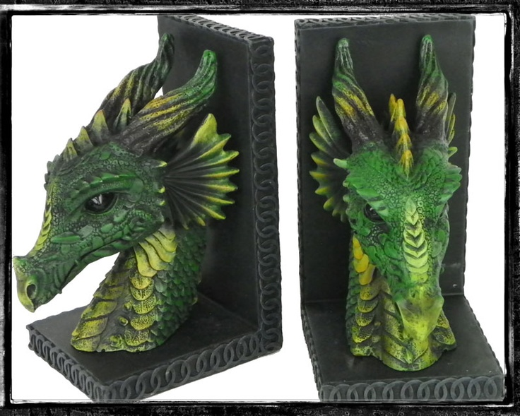 Dragon book ends cool dragons pinterest - Dragon bookend ...