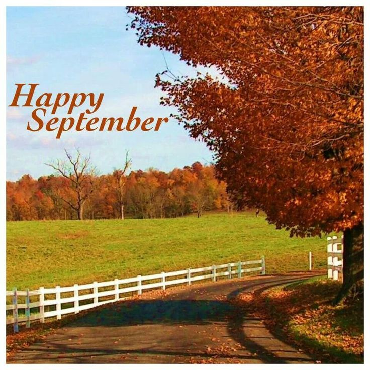 Happy September! | Welcome September | Pinterest