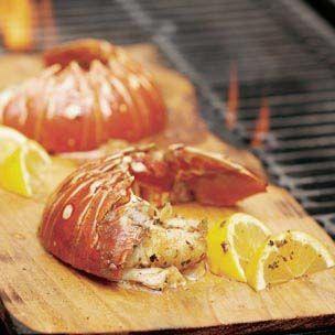 Cedar-Planked Lobster Tails | Recipes | Pinterest