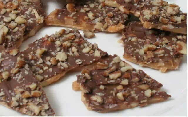 Toffee | Recipes To Try | Pinterest