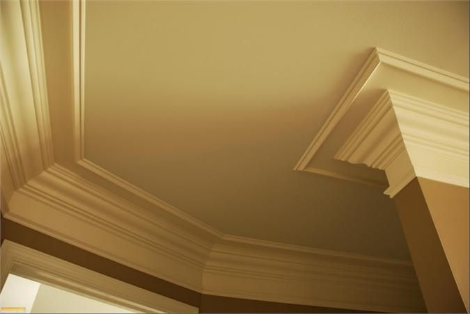 Combination Crown Molding   Architecture  Ceiling Millwork   Pinterest