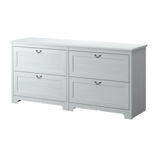 Wickelkommode Mit Badewanne Ikea ~ Aspelund+Dresser+White chest of drawers