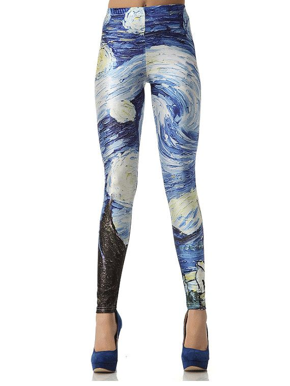 Awesome Only Onplakisha Aop 34 Training Tights Moonless Night Pants  Women