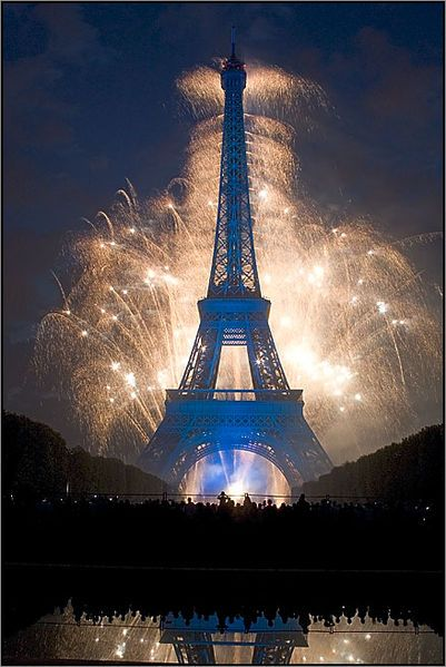 celebration in Paris