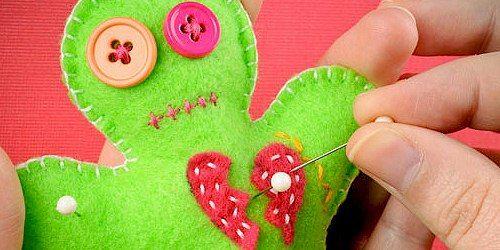 valentine's day voodoo doll