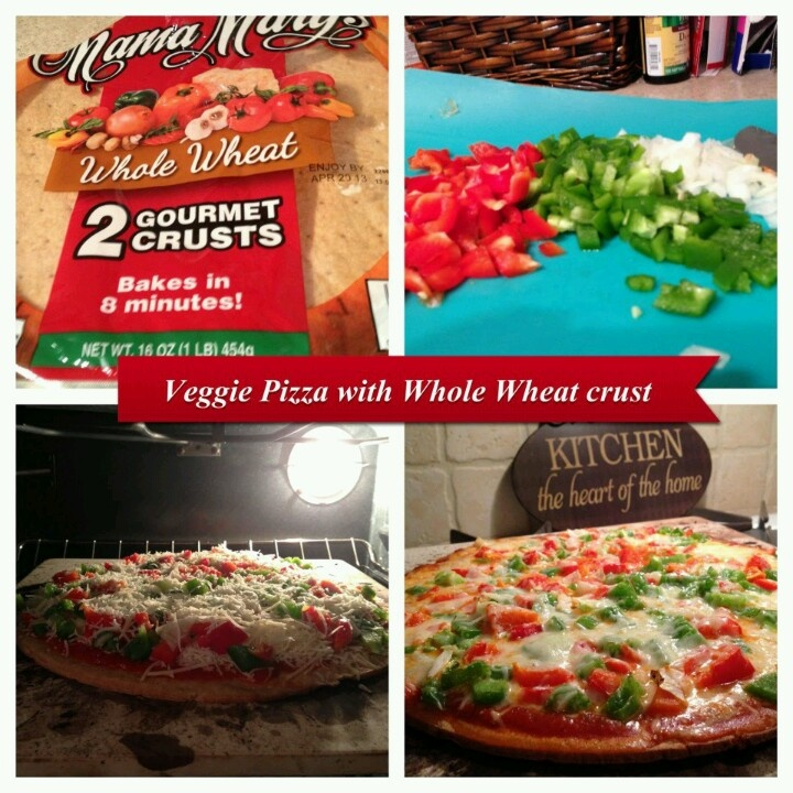 Whole wheat veggie pizza | The Main Event | Pinterest