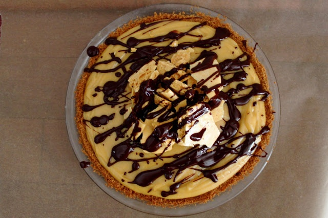 Peanut Butter Honeycomb Pie. | sweets. | Pinterest