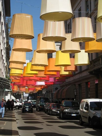 Lampshades everywhere