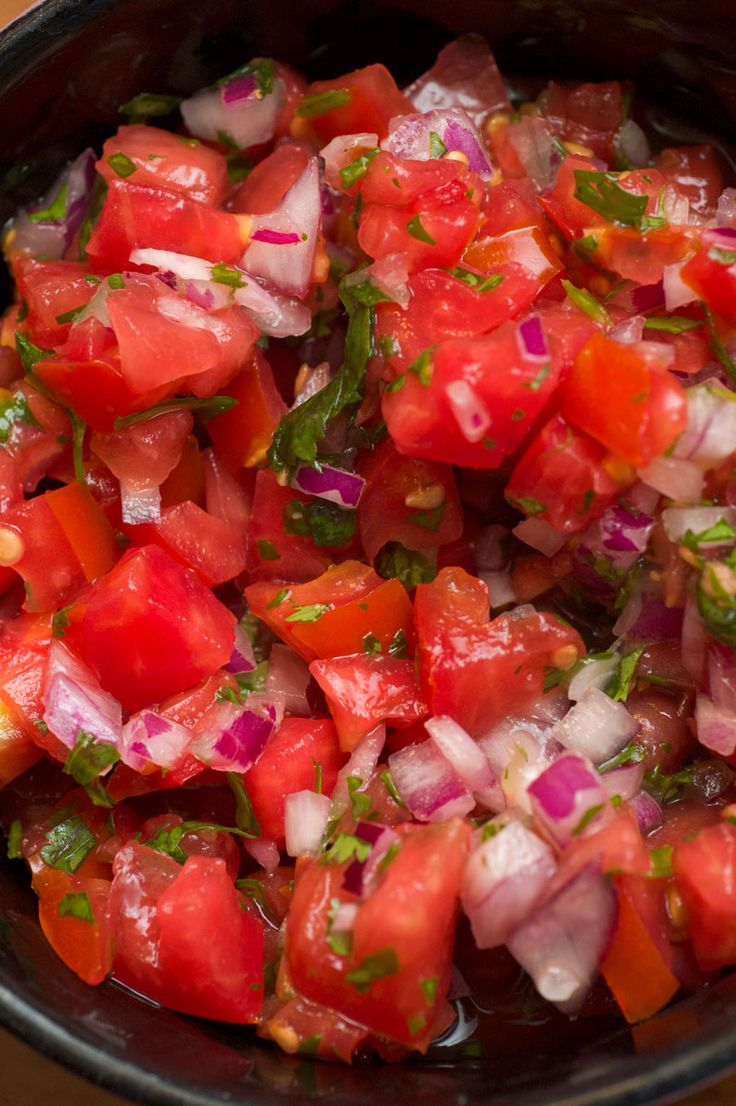 Pico de Gallo | Mexican | Pinterest