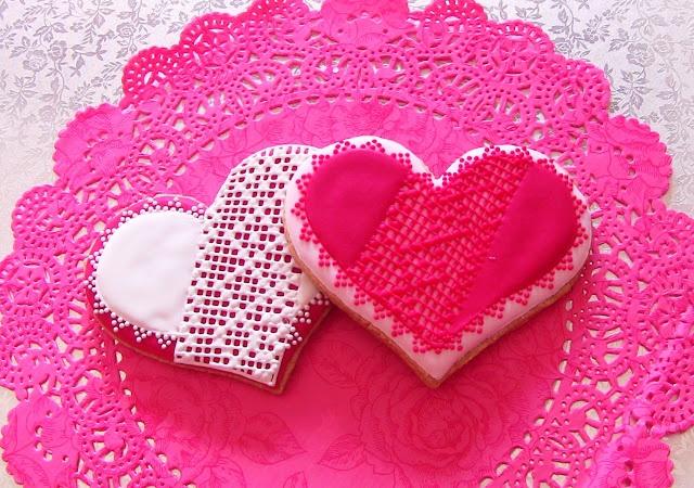 Galletas con corazón