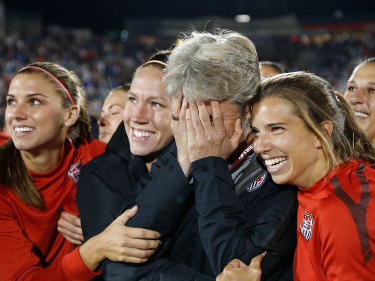 Tobin Heath And Alex Morgan From left: alex morgan,