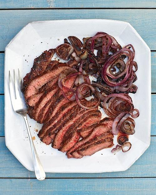 Flank Steak and Red Onion - Martha Stewart Recipes