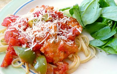 Quick Chicken Cacciatore | recipes | Pinterest