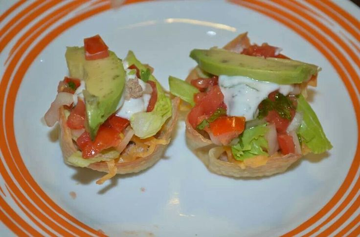 Taco cupcakes | Low-Carb Recipes | Pinterest