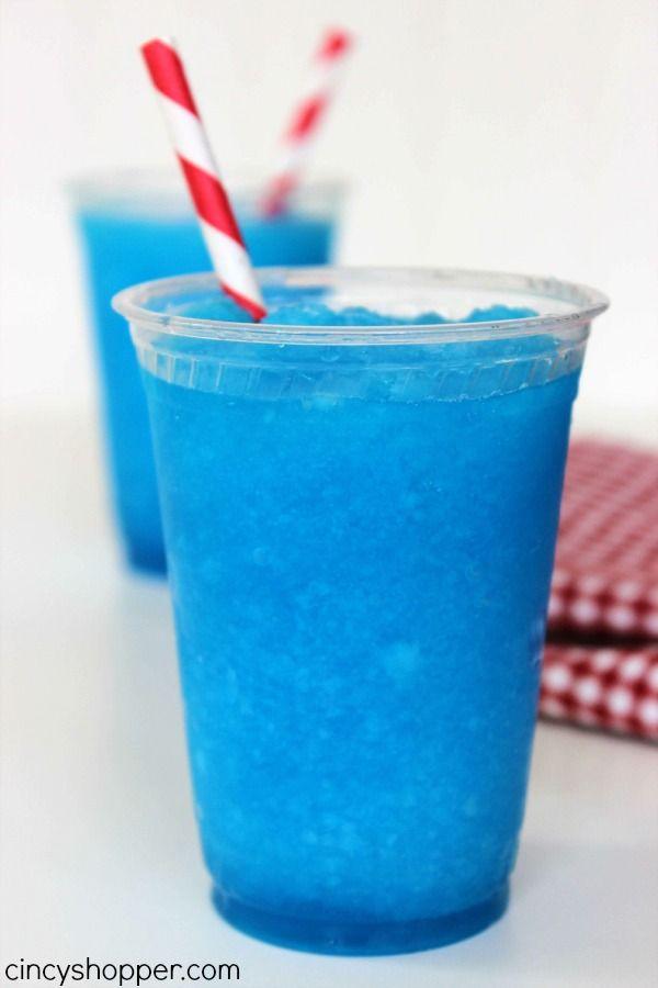 Raspberry Lemonade Slurpee Recipe 1