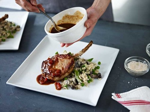 Pan-Roasted Pork Chop | Macaroni Grill | Pinterest
