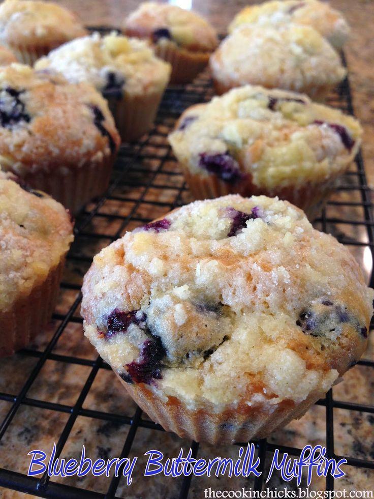 Blueberry Buttermilk Muffins | Favorite Recipes | Pinterest