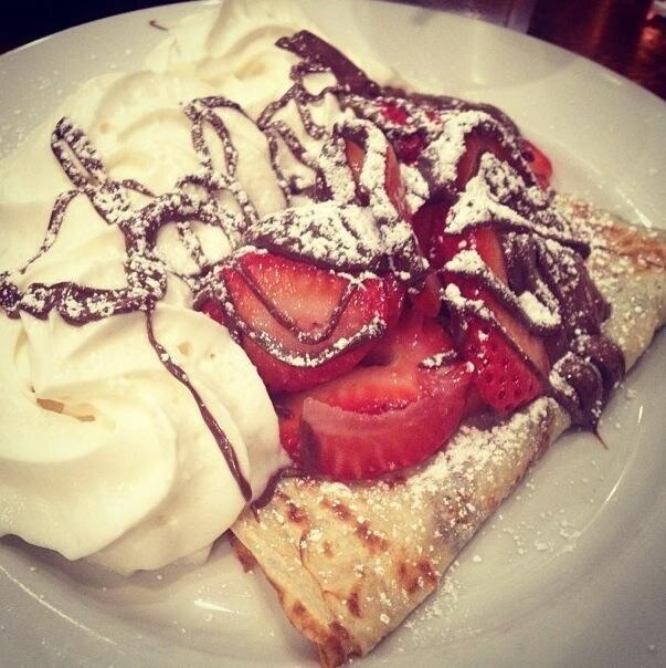 Strawberry Nutella Crepes | Food | Pinterest