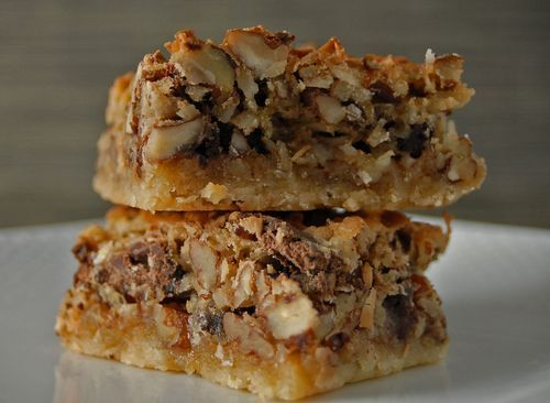 Coconut Pecan Chocolate Chunk Bars | Sweet tooth | Pinterest