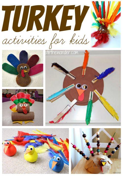 15 Thanksgiving Turkey Activities For Kids