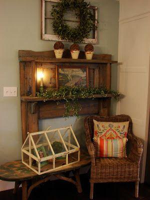 Home Decorating on Cobblestone Farms  Mantle   Home Decor