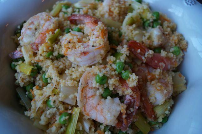 Shrimp with Couscous | food | Pinterest