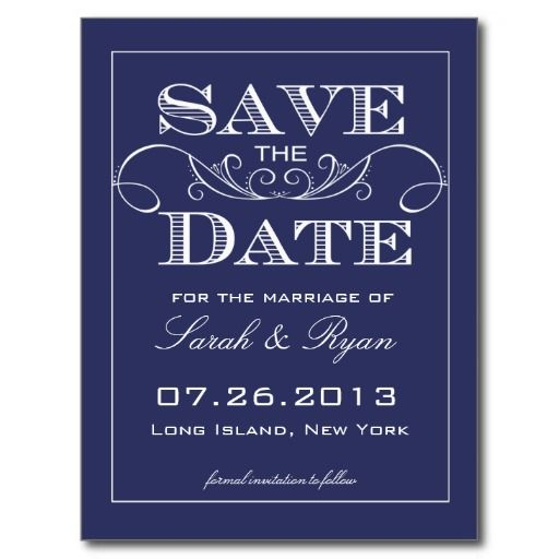 Make a save the date card online