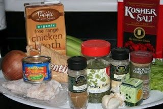 ... of Slow Cooking: Indian Spiced Lentils with Chicken Slow Cooker Recipe